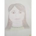 Mrs Keable's self-portrait