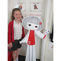 We even had our photo taken with Doodle Girl!