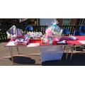 Our fabulous raffle prizes: Summer Fair 2018