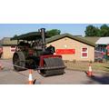 Visit from the steam roller: Summer Fair 2018