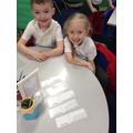 Zach and Emily have been sorting Glossary terms.