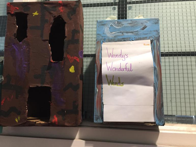 Year 6 Harry Potter buildings