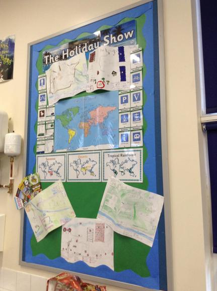 Year 6 Geography ( The Holiday Show)