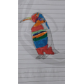 Adyan's colourful penguin