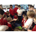 Science- looking at small habitats.