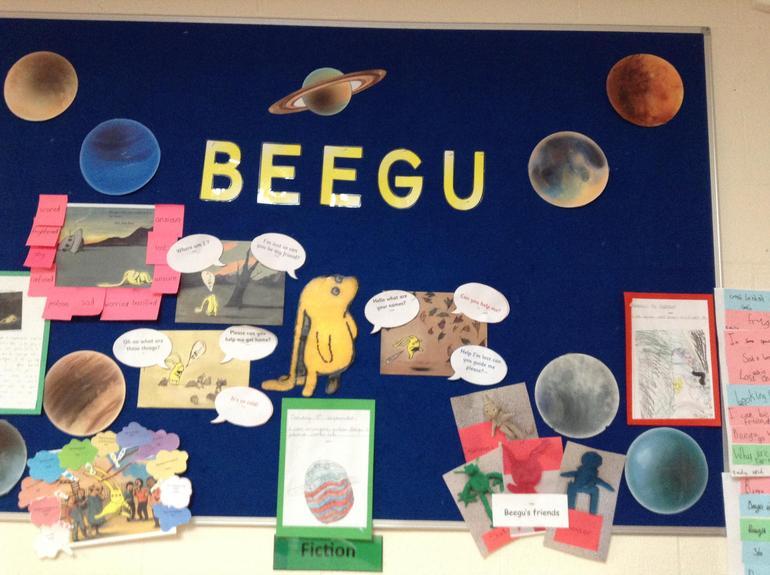 Beegu by Alexis Deacon (Hawthorn)