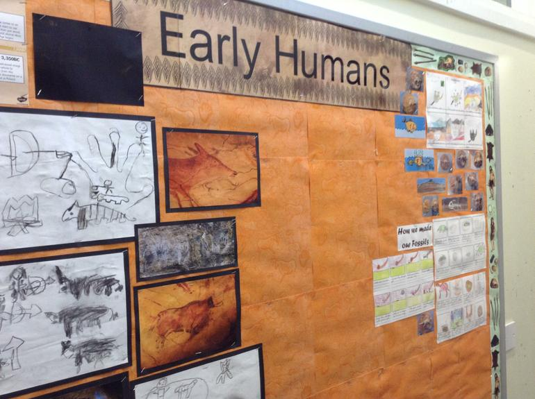 Year 3 History ( Early Humans display)