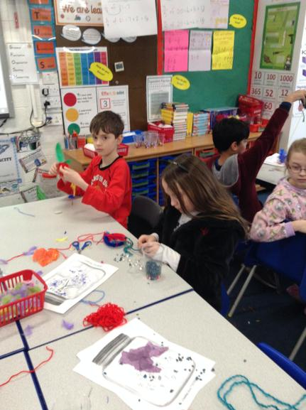 Dream Catchers made in Year 5