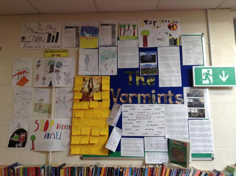 The Varmints by Helen Wood (Y5)