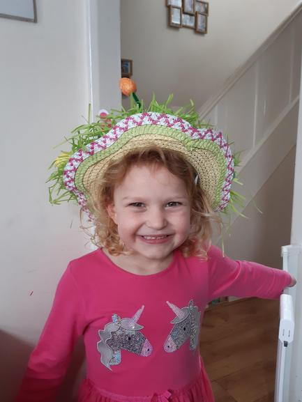 Amazing Easter Bonnet by Alice Tomkinson