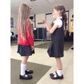 Wonderful acting Carmen and Izzy!