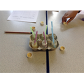 Different experiments with cabbage,acid and alkali