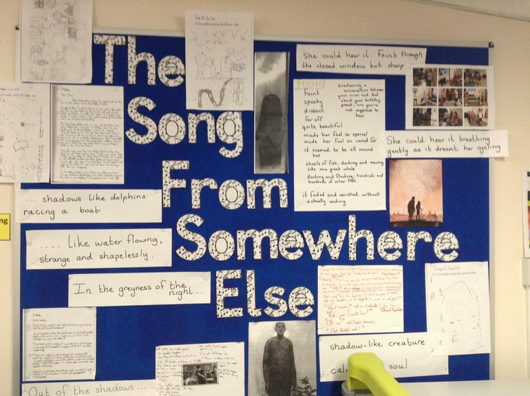The Song from Somewhere Else by Year 5