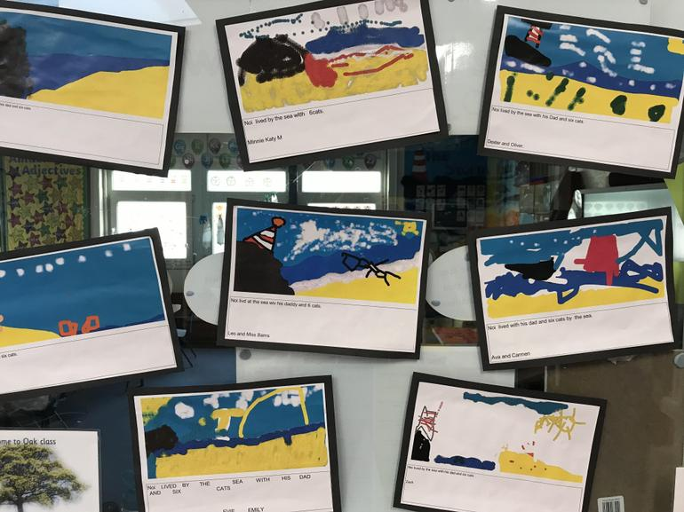 The storm Whale based work by Oak class