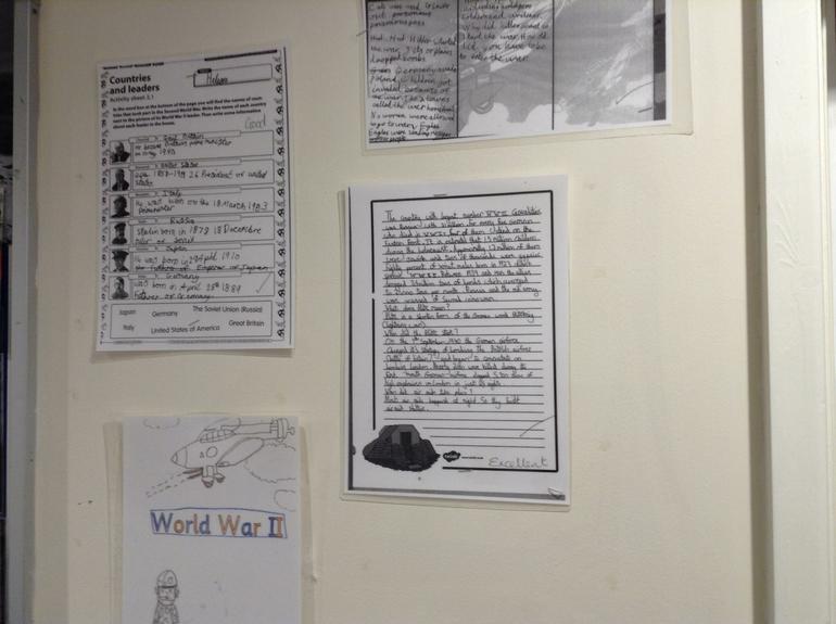 World War Two topic writing
