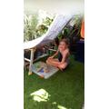Leah's outdoor den