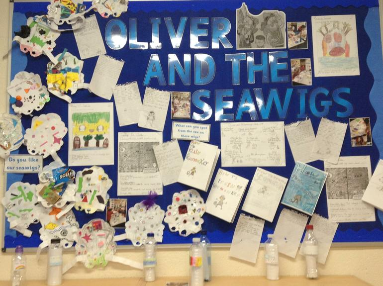 Oliver and the Seawigs by Year 4