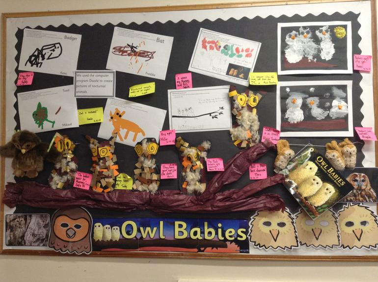 Owl Babies by Willow Class