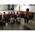 Hot seating Mrs Owen as a character in the story.