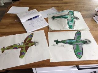 Super spitfire art from the Sweeneys.
