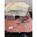 Sophia's Mayan hut