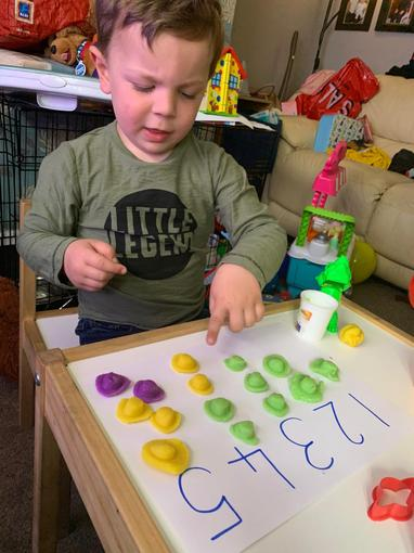 Learning to recognise numbers