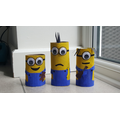 Toilet roll Minions by Tom C
