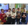 Fantastic art and craft reindeer making