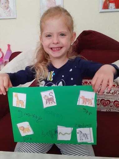 Look at Chloe's fantastic writing!