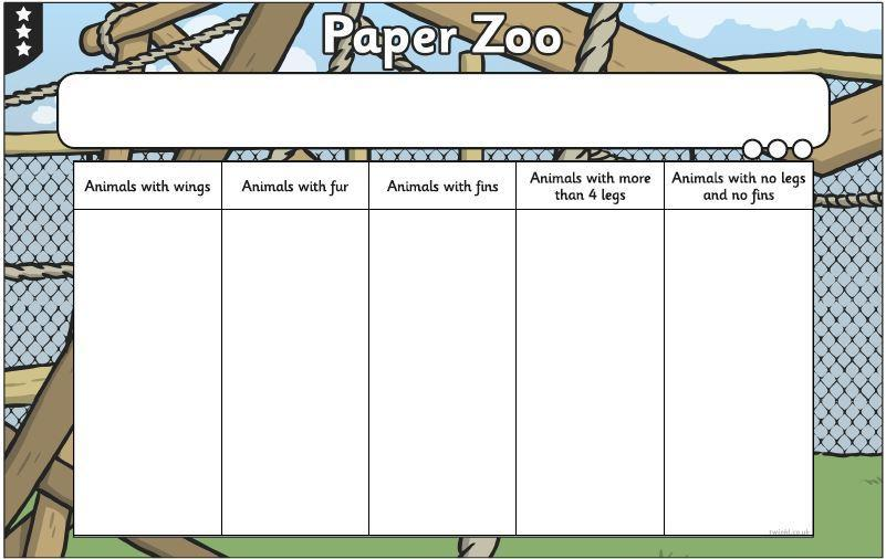 You can draw your own grid and animals