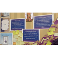 Year 6 Lenten promise classroom display