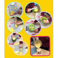 We learnt how to safely peel, slice, blend and pour the fruit.