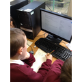Using the internet to research key facts