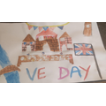 Isabelle's VE Day painting