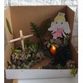 Wiktor's Easter Garden