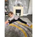 Keep stretching Lily!