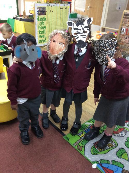 We made masks!