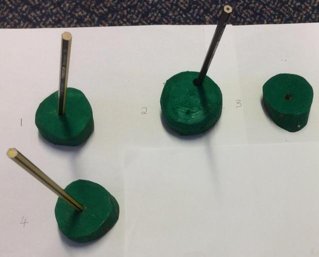 Wooden Pencil Holders (Pencils not included) - 25p each
