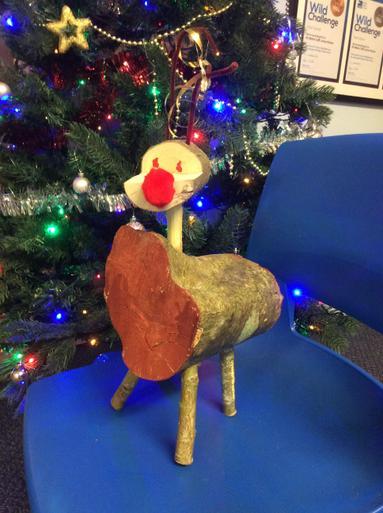 Wooden Reindeer 2 - £5.00