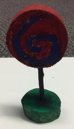 Wooden Lollypop Decoration - £1.00