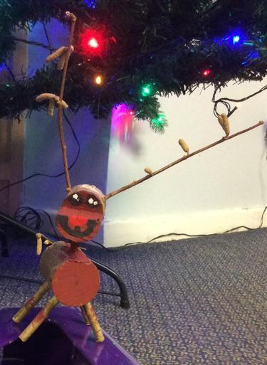 Small Wooden Reindeer £2.50