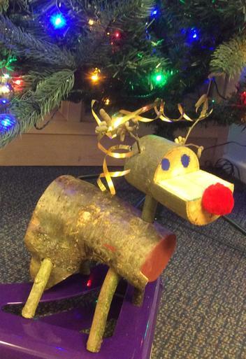 Wooden Reindeer 1 - £5.00   SOLD