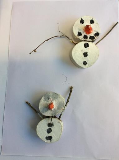 Snowman Decorations £2.00 each