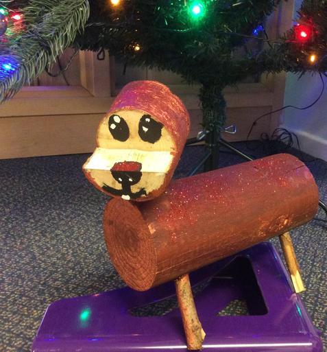 Medium Wooden Sausage Dog £5.50