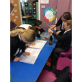 Class 5 testing absorbency of different materials