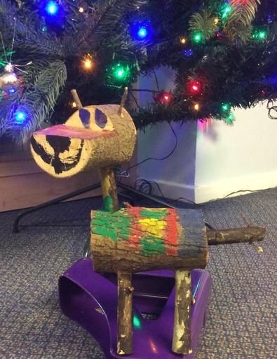 Wooden Reindeer (Dasher) - £4.00 SOLD