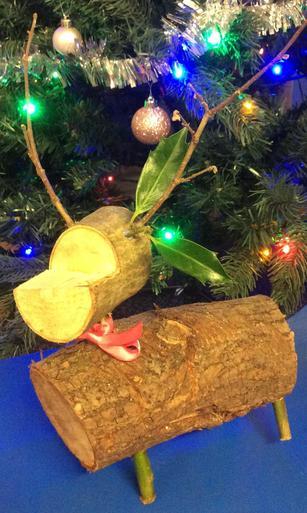 Medium Wooden Reindeer - £2.00 SOLD