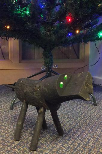 Wooden Dog - £4.00 SOLD