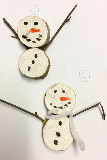 Snowmen Decorations £1.00 each
