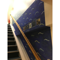 Y4's Peter Pan theme stairwell